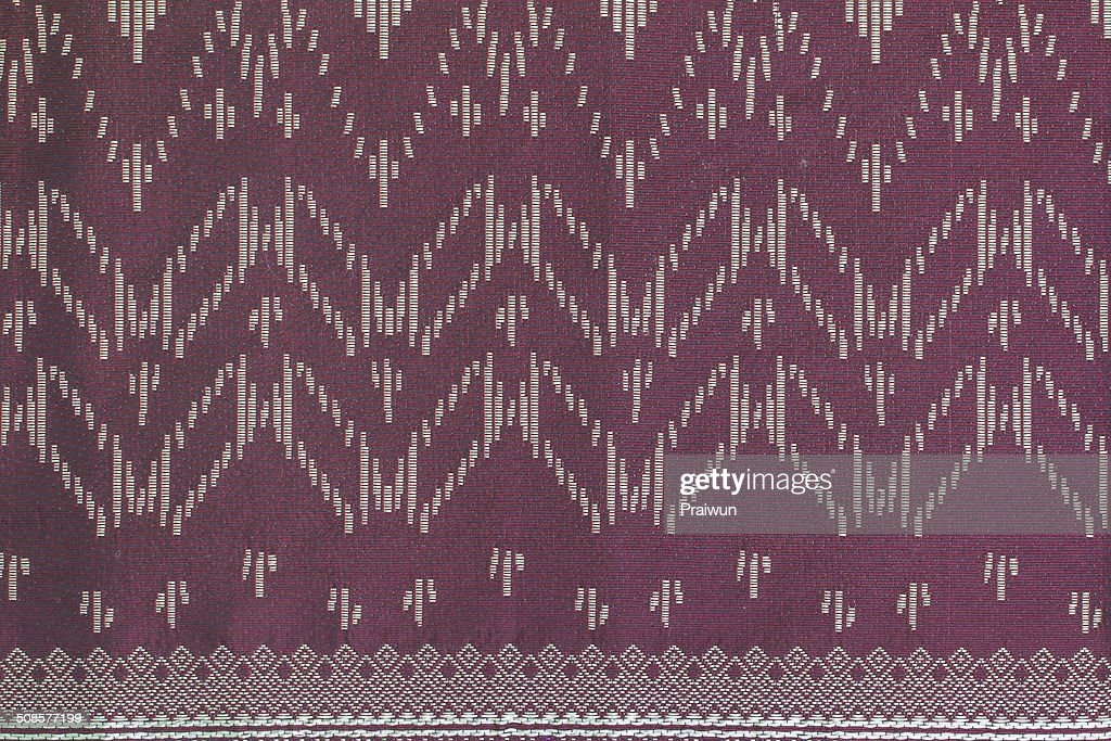Thai silk fabric pattern : Stockfoto