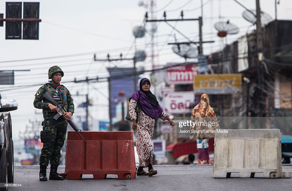 Thai Insurgency Fears Grow As Recruiters Could Turn To Southeast Asia's Longest-running War : News Photo