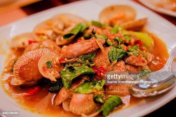 Thai Stir-Fried Clam with Curry