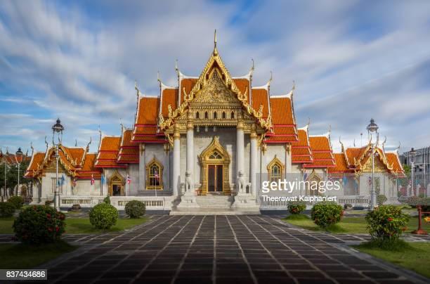 Thai temple (Marble temple or Wat Benchamabophit, Bangkok)