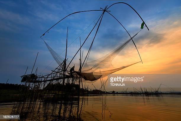 Thai traditional fishing