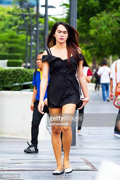tailandés transexual - kathoey fotografías e imágenes de stock
