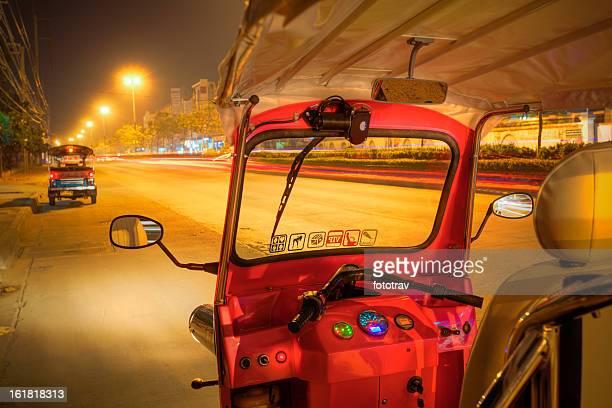 Thai Tuktuk at night