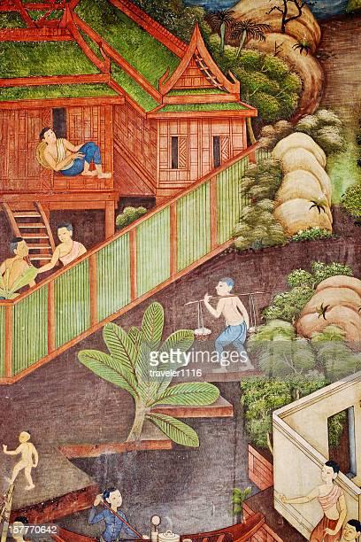 Thai Village Life