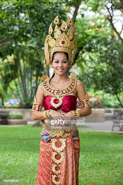 Thai woman in traditional dress