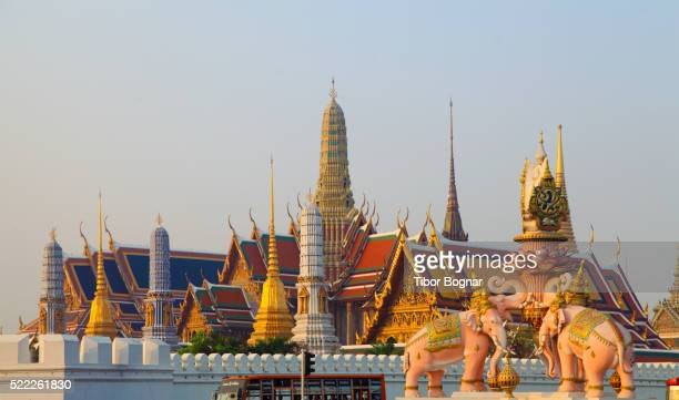 Thailand, Bangkok, Emerald Buddha Temple,