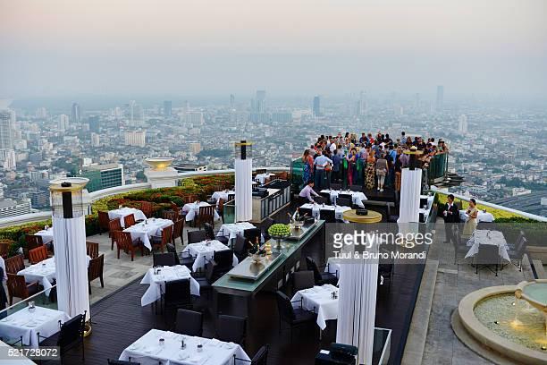 Thailand, Bangkok, Sirocco bar (Sky Bar) from Lebua hotel