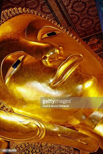 Thailand, Bangkok, Wat Pho, sleeping Buddha temple