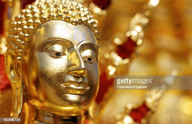 Thailand, Chiang Mai, Doi Suthep, buddha statue.