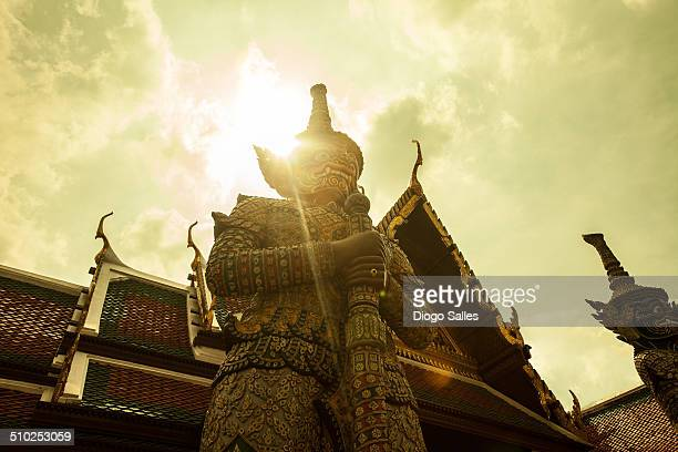 """Thailand - Grand Palace Thailand has demon guardians called """"Yak"""". They are designed in a various styles and it looks like no demon is the same. They..."""