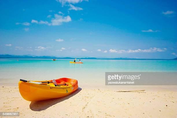 Thailand, Kayak on beach