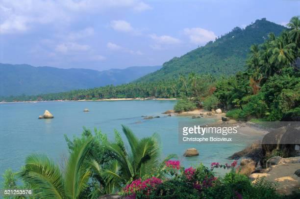 thailand, ko samui island, lamai beach - golf von thailand stock-fotos und bilder