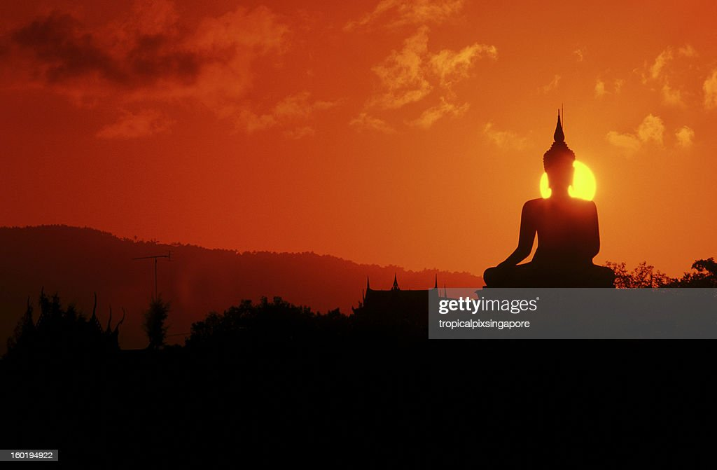 Thailand, Koh Samui, buddha statue. : Stock Photo