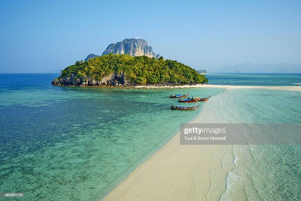 Thailand, Krabi province, Ko Tub island : Foto de stock