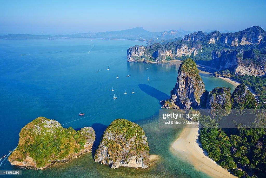 Thailand Krabi Province Railay Beach