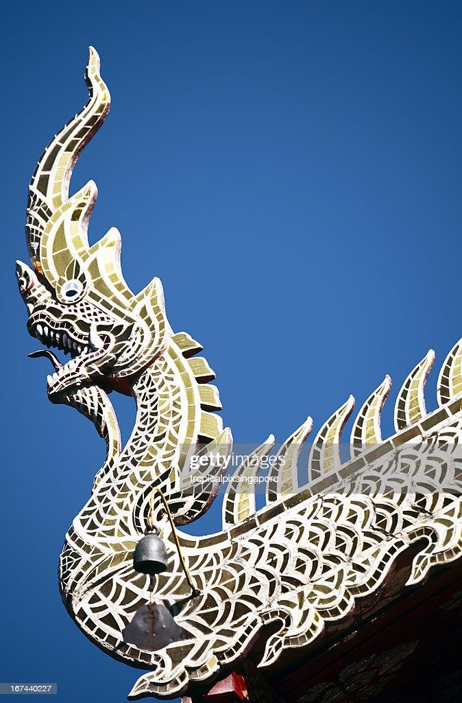 Thailand, Lamphun, Wat Prathat Hariphunchai, Buddhist temple. : Stock Photo