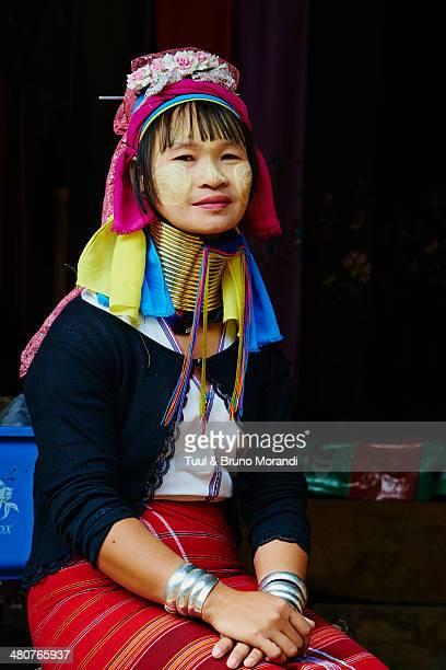 Thailand, Mae Hong Son, Long Neck girl