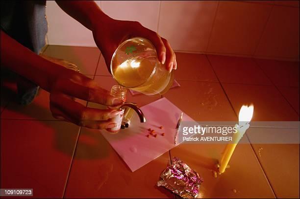 Thailand Pursues Massive And Deadly Crack Down On Ya Ba Users On January 3Rd 2003 In Bangkok Thailand Thai Woman Preparing To Smoke Ya Ba The Ùcrazy...