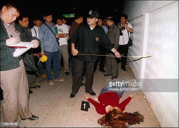Thailand Pursues Massive And Deadly Crack Down On Ya Ba Users On January 3Rd 2003 In Bangkok Thailand A Young Female Ya Ba Dealer Killed By Dealers...