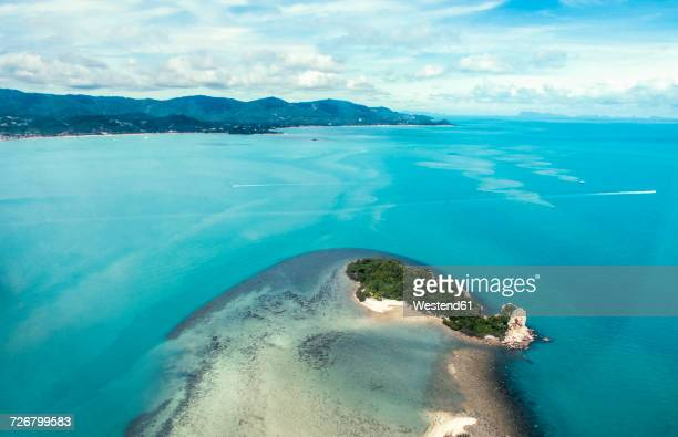 Thailand, Surat Thani, aerial photo of Ko Samui