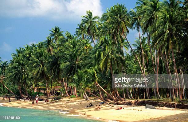 Thailand, Surat Thani, Ko Samui, Bophut Beach
