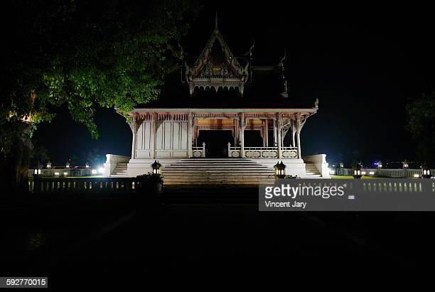 Thailand temple Santichaiprakarn park