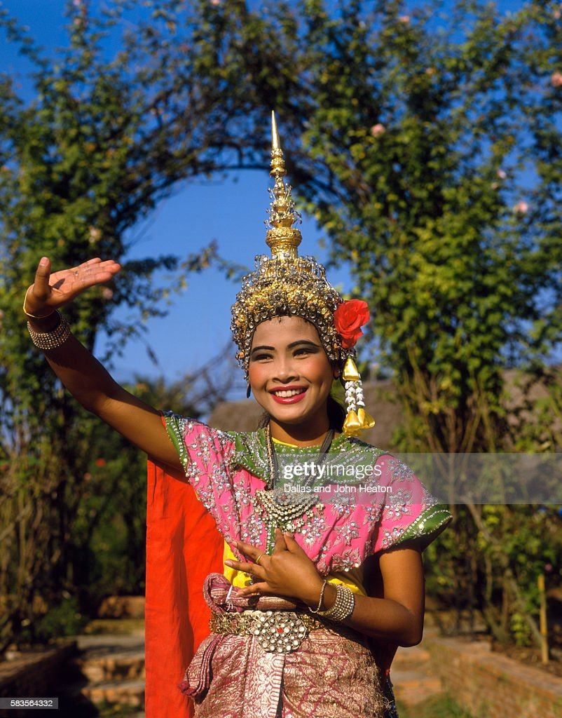 Thailand, Traditional Dancing : Stock Photo