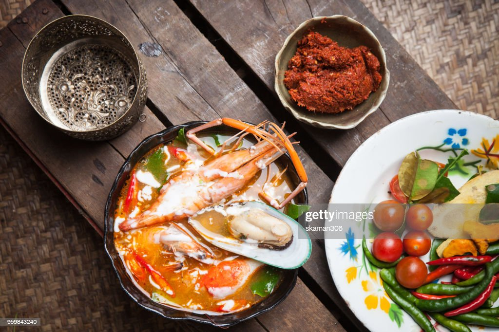Thailand traditional herb and Cooking : Stock-Foto