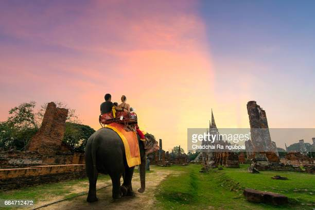 thailand travel - ayuthaya province stock pictures, royalty-free photos & images
