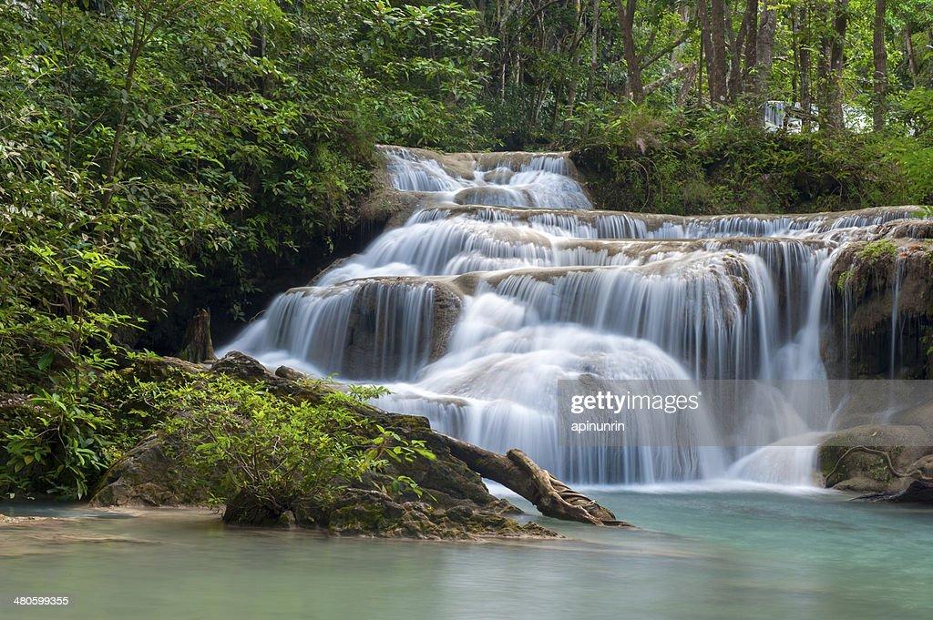 Thailand waterfall : Stock Photo