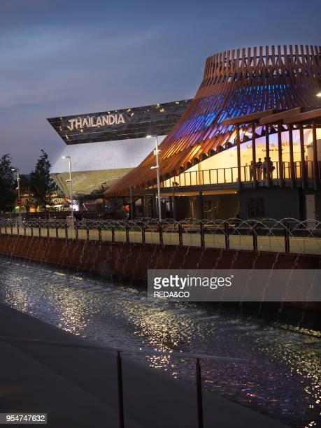Thailandia Pavilion EXPO 2015 Milan Lombardy Italy Europe