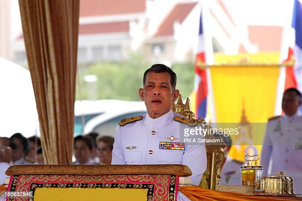 Thailand's Crown Prince Maha Vajiralongkorn attends the annual Royal Ploughing Ceremony to mark the traditional beginning of the ricegrowing season...