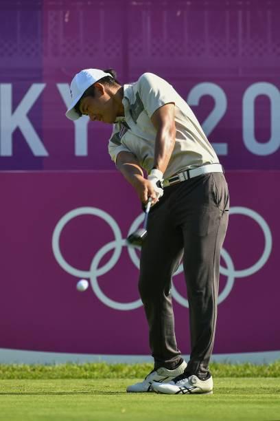 JPN: Golf - Olympics: Day 9