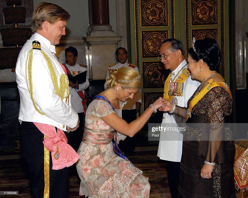 Banquet Celebrates Thailand King's 60th Anniversary : News Photo