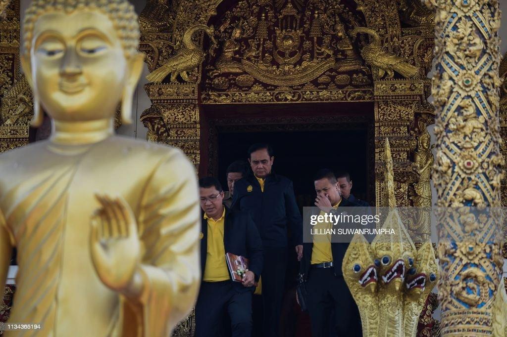 THAILAND-POLITICS-ROYALS-CORONATION : News Photo
