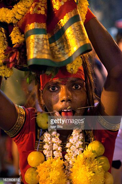 Thaipusam is a hindu festival celebrated mainly by the tamil community. Outside of India, it is celebrated mainly by the Tamil speaking community...