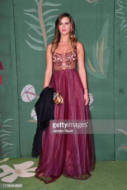 Thais Souza Wiggers attends the Green Carpet Fashion Awards during the Milan Fashion Week Spring/Summer 2020 on September 22 2019 in Milan Italy