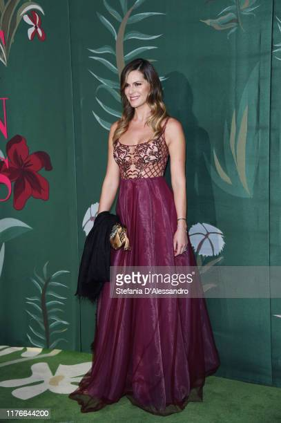 Thais Souza Wiggers attends the Green Carpet Fashion Awards during the Milan Fashion Week Spring/Summer 2020 on September 22, 2019 in Milan, Italy.