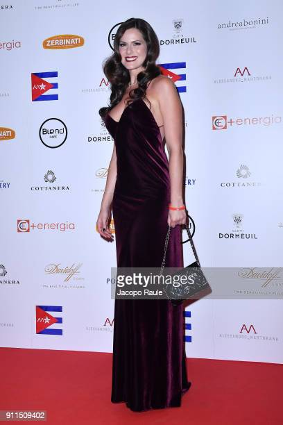 Thais Wiggers attends the Alessandro Martorana Party on January 28, 2018 in Milan, Italy.