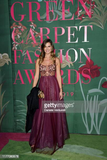 Thais Wiggers attends the Green Carpet Fashion Awards during the Milan Fashion Week Spring/Summer 2020 on September 22, 2019 in Milan, Italy.