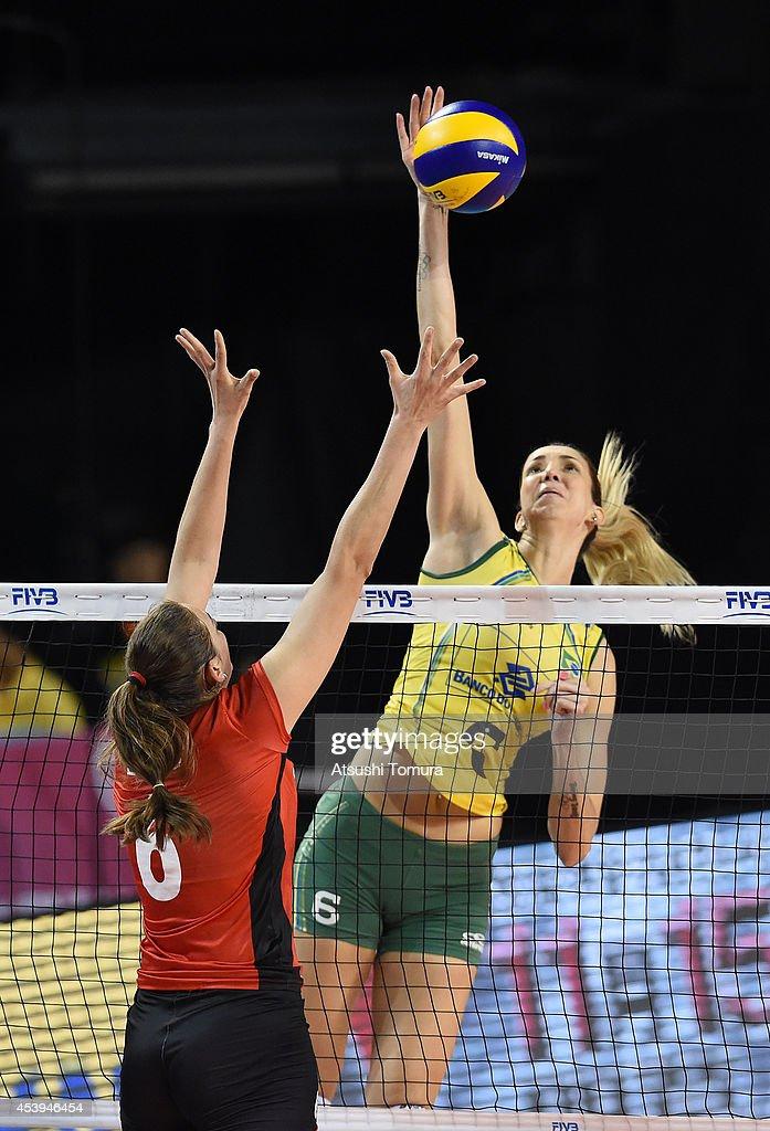 Belgium v Brazil: FIVB World Grand Prix Final - Group 1