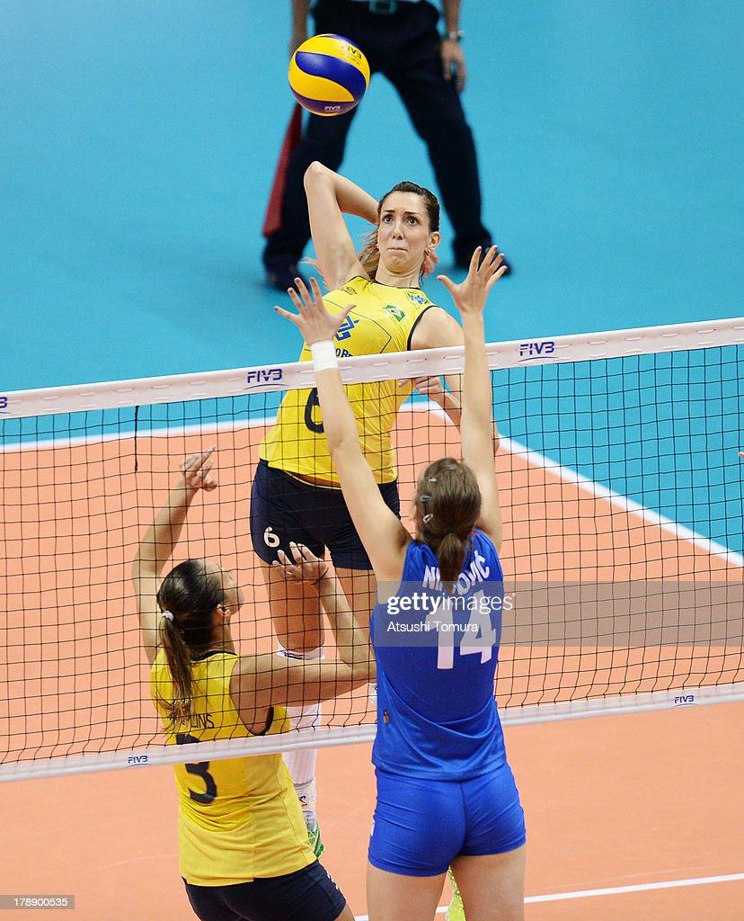 Brazil v Serbia - FIVB World Grand Prix Sapporo 2013 Day 4