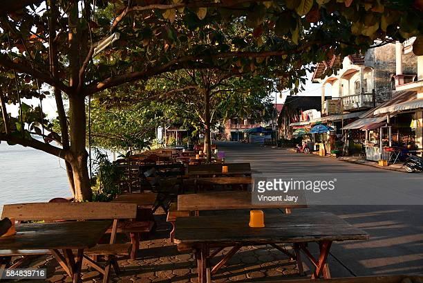 Thakhek city Laos
