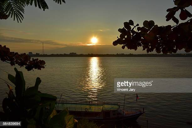 Thakhek sunset Laos