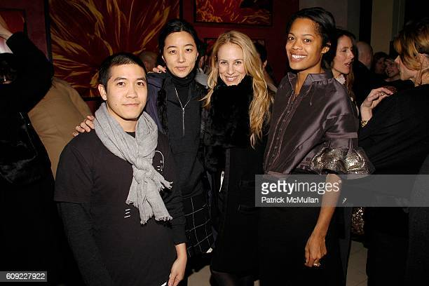 Thakoon Panichgul Tina Chai Rebekah McCabe and Bonnie Morrison attend ELLE Magazine and ROBBIE MYERS Host a Party to Welcome JOE ZEE as the new...