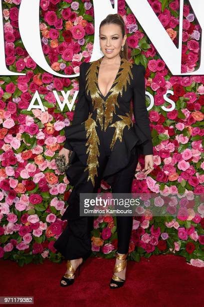 Thalía attends the 72nd Annual Tony Awards at Radio City Music Hall on June 10 2018 in New York City