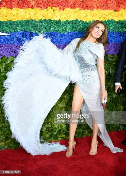 Thalía attends the 73rd Annual Tony Awards at Radio City Music Hall on June 09 2019 in New York City