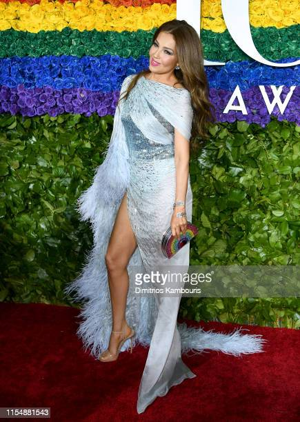 Thalía attends the 73rd Annual Tony Awards at Radio City Music Hall on June 09, 2019 in New York City.