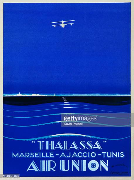 'Thalassa' Air Union Poster by E Maurus