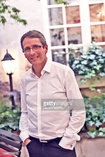Thales Angenieux Pierre Andurand is photographed for Self Assignment on, Jun 14, 2017 in Paris, France.